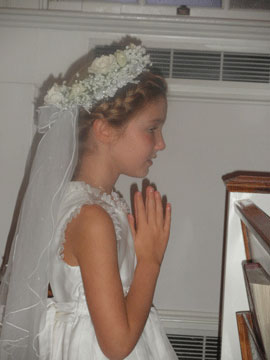 Lindsey's First Communion