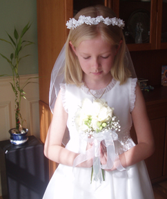 Laura's First Communion